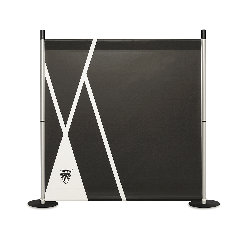 photocall stand noir