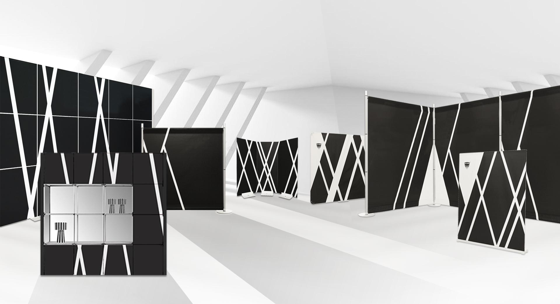 murs d'images portables