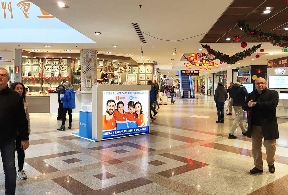 Le centre commercial devient une Foire